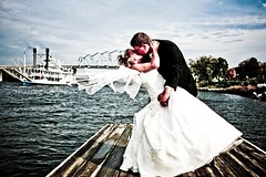 a kiss on the Mississippi River | Wabasha MN wedding photographer (portergraph) Tags: wedding minnesota mississippiriver weddingphotographer wabasha juliabelleswain slipperys portergraph