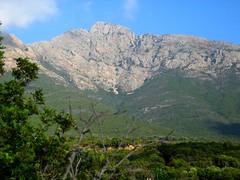 Capu di l'Argentella, ancien lieu d'exploitation minière