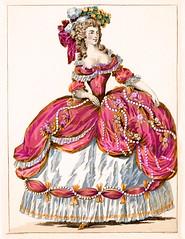 Galerie Des Modes! Pink Tafetta!