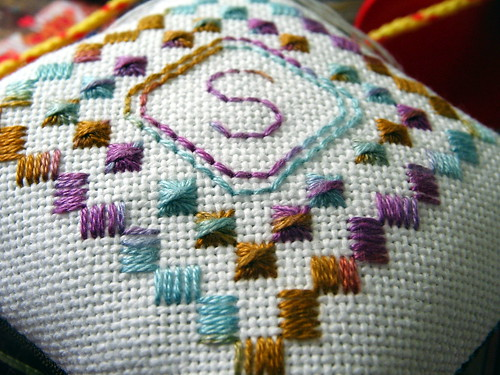 """s"" embroidery"
