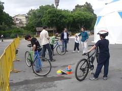"""Sessão prática """"Introdução à condução de bicicleta"""""""