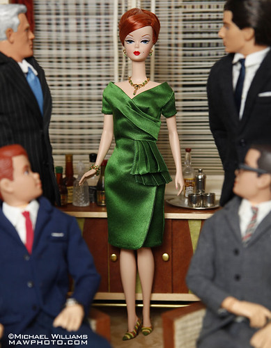Mad Men Haute Doll Magazine Mar/Apr 2010