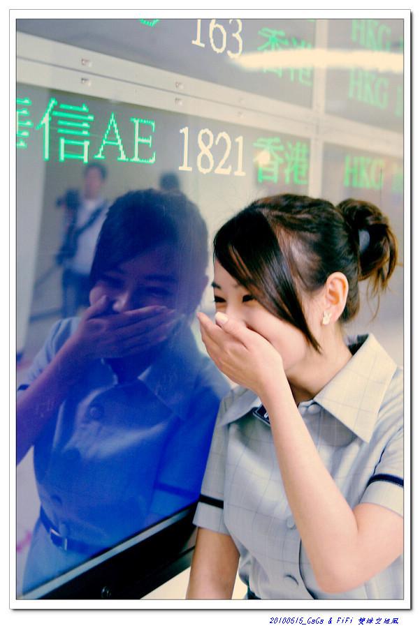 GaGa@台中航空站 (空姐風)