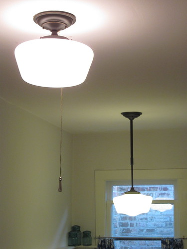 Kitchen Light Fixture With Pull Chain