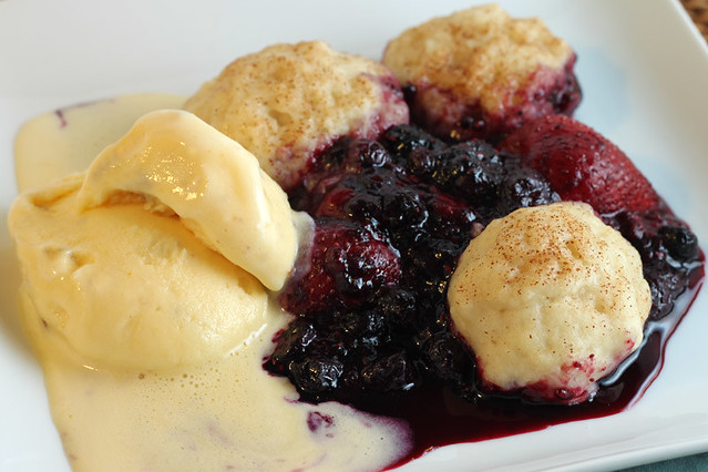 Warm Berries and Cinnamon Dumplings