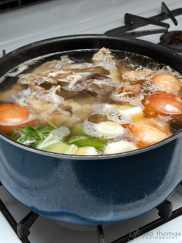 Chicken Stock Stewing