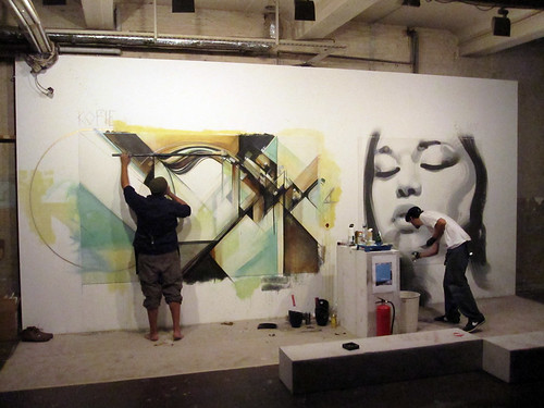 Live Painting@Project Room 1
