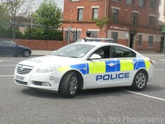 Police Vauxhall Insignia Demonstrator (Nick 999) Tags: new blue red rescue white yellow docks lights big nice respect harbour police belfast led yelp argument leds northernireland emergency insignia 112 vauxhall 999 sirens livery demonstrator policeofficer lightbar emergencyservice harbourpolice belfastdocks policeservice vauxhallinsignia 999call vauxhalldemonstrator vo59nbf newvauxhalllogo firebrigade1