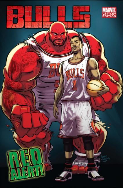 bulls comic cover