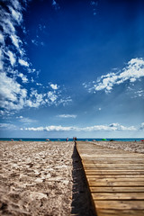 289/365 - Paths (Alex Stoen) Tags: wood blue sea sky people beach nature azul clouds composition canon walking mar sand flickr mediterranean shadows natural path walk horizon picasa playa line arena paseo sanjuan ciel walkway cielo shade nubes definition choice nuages sombras hdr highdynamicrange ef2470mmf28lusm mediterraneansea horizonte options alternatives picassa paseomaritimo sombrillas enfoque fav10 singleexposure project365 playadesanjuan singleexposurehdr sanjuandealicante altorangodinamico 289365 canoneos5dmarkii 5dmk2 alexstoen alexstoenphotography