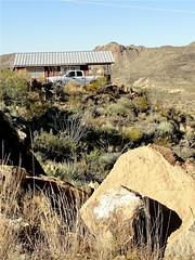 Cabin# 1 at Wild Horse Station in Turlingua, TX - Big Bend area (kanokwalee) Tags: travel cactus mountains nature cacti hotel cabin rocks desert hiking lodging motel westtexas bigbendnationalpark isolated bigbend secluded studybutte turlingua