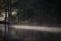 IMG_9131 (lepista) Tags: morning mist canal runcorn 20101024