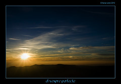 El vespre perfecte   --EXPLORED #403   (10/11/10)-- (Ferranet) Tags: landscape atardecer paisaje olympus catalunya ocaso lateafternoon vespre paisatge montseny e510 capvespre turdelhome sortidazz zd918