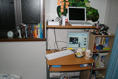 My Room and New HDD and Mac Keyboard (Sweet)