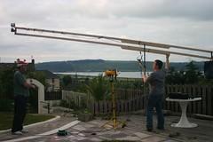 Homemade camera crane jib