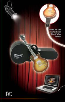 Gibson Les Paul pendrive