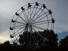 Ferris Wheel in Buffalo Wyoming (Fran 53) Tags: summer wheel buffalo 4th july carousel ferris wyoming 2007