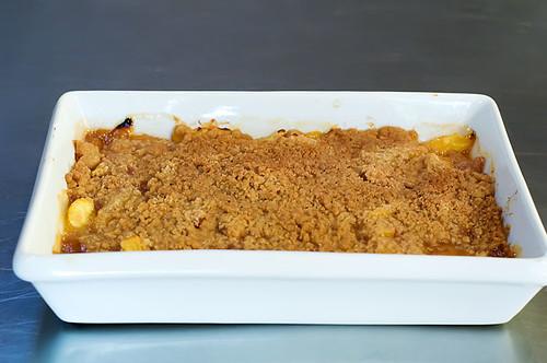 Peach Crisp with Maple Cream Sauce   The Pioneer Woman Cooks   Ree ...