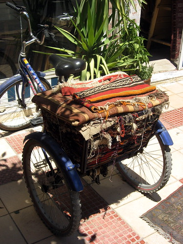 Bike With Rugs