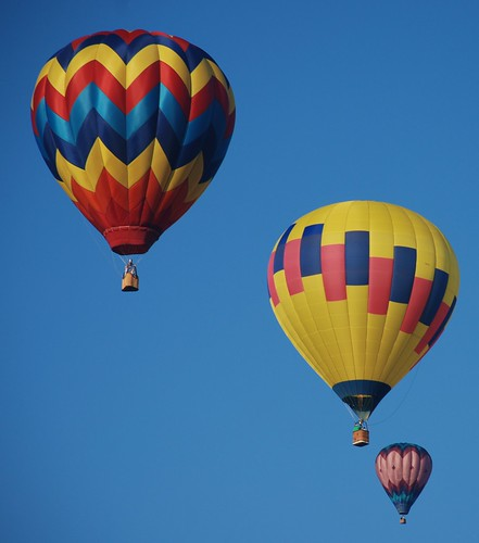 Hot Air Balloons - Already on the air by just4pics.