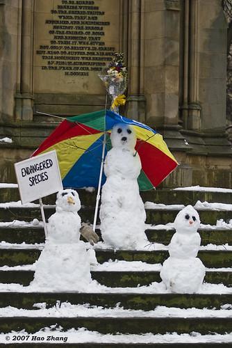 Klímaváltozásra felhívó akció Nagy-Britanniában