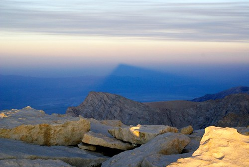 Mt Whitney's Shadow