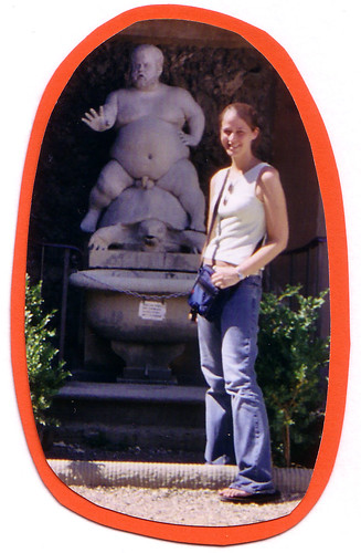 Naked Midget on a Turtle - Boboli Gardens, Florence