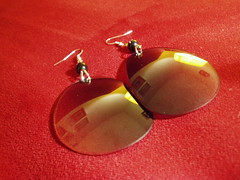 Sunglass earrings