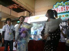 小林沙苗與豐口惠老師致詞