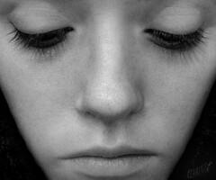 ~_~ (klaminus) Tags: cute eye girl beautiful face female nice closed eyelashes sweet young lips teen russian nouse