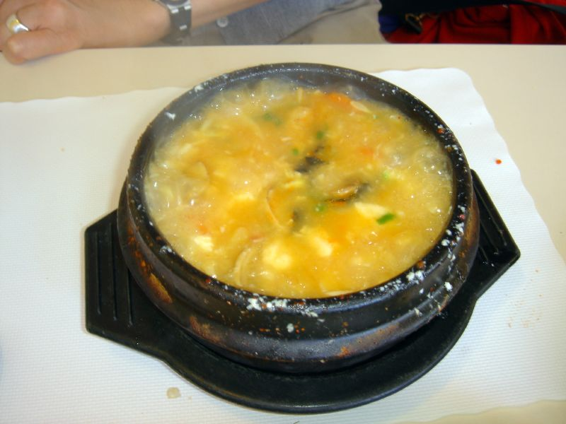 Vegetable Tofu Pot