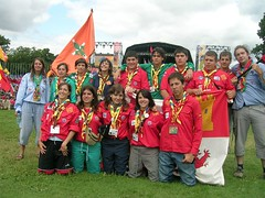 093 Jamboree UK - Ceremonia de inaguracion