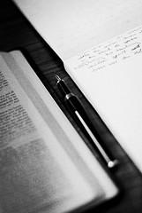 pen blackwhite study bible moleskin gretagarbo fakemontblanc