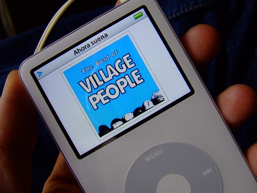 Foto de mi nuevo iPod blanco de 30 GB
