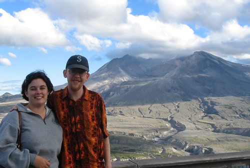 Us at Mt. St. Helens