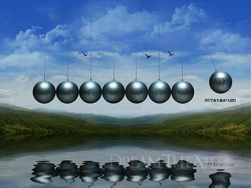 Metallica Death Magnetic CD · Dream Theater Octavarium Wallpaper