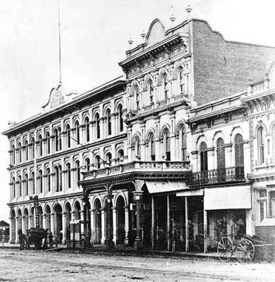 Pico House, Merced Theatre, Masonic Hall