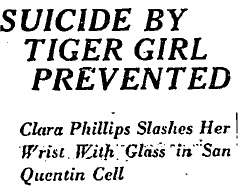 Tiger Girl Headline