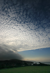 Cloudspotting again. Buy one get one free - Altocumulus stratiformis + Stratus fractus (s0ulsurfing) Tags: ocean sea sky cloud beach water beautiful weather clouds composition wow wonderful island bay coast amazing cool fantastic skies superb wind ominous patterns gorgeous wide shoreline wideangle coastal shore blanket isleofwight coastline whoa incredible isle mackerelskies wight stratus 2007 freshwater outstanding altocumulus 10mm freshwaterbay sigma1020 fractus outstandingshots s0ulsurfing thecloudappreciationsociety outstandingshot altocumulusstratiformis stratiformis superbmasterpiece