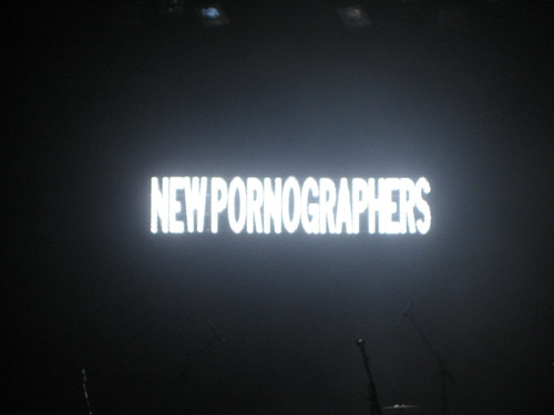 New Pornographers, the Warfield, September 17, 2007