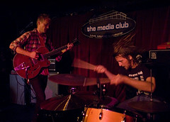 Two Gallants | @ the Media Club (steve louie) Tags: music rock vancouver live lounge bands indie shows concerts twogallants saddlecreek mediaclub rockduo