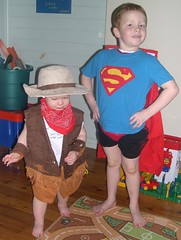 Superman and Cowgirl