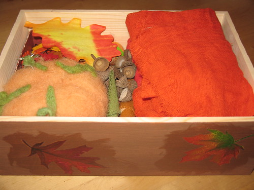 Fall Nature Table Box Contents