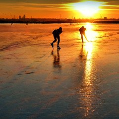 Skating back home (Bn) Tags: holland iceskating skating thenetherlands topf300 vanburen wintertime topf100 500faves soe topf200 iceskate maxima waterland schaatsen schaats holysloot topf400 prinswillemalexander elfstedentocht topf500 greylaggeese topf600 ransdorp grauwegans 100faves 200faves natuurijs elevencitiestour 300faves aplusphoto 400faves 600faves holysloterdie explorewinnersoftheworld micarttttworldphotographyawards micartttt bevrorenmeer skatingonnaturalice dutchskaters schaatseninwaterland skateoutdoor ganzentijdinjanuari schaatsgekte ijstochten lakefreezeover elfstedentochtelfstedentocht ijstochtenn holysloter schaatsenopdeholysloterdie skatingbackhometoamsterdam rembrandttoren150meter breitnertoren94mphilipshoofdkantoor mondriaantoren123m