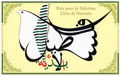 Peace for Palestine, Land of Eternity (intasko) Tags: art logo freedom design israel war poem peace symbol humanity palestine islam oppression arabic identity invitation libert tragedy arabe poet identit calligraphy algerie guerre politique injustice salam gaza symbole islamic politic paix colonization palestinian posie occupation courbe juif calligraphie poete colonisation  tragdie mahmouddarwich