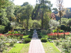 A view of the Shakespeare Garden in 2004