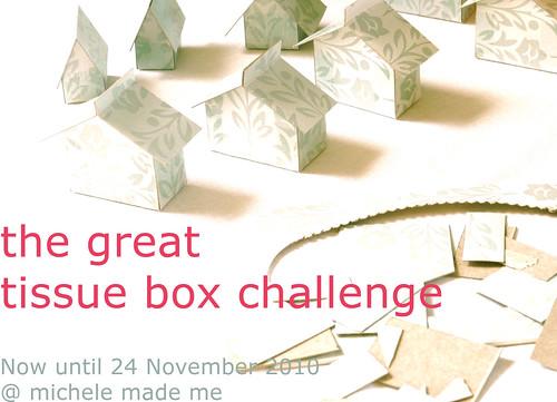 tissue box challenge
