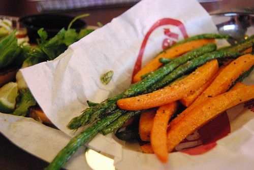 Smashburger veggies