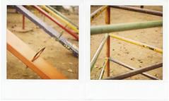 Rusty x Colors (PHOTOMO) Tags: chile travel film polaroid sx70 diptych 600 instant ndfilter polaroidweek roidweek roidweek2010