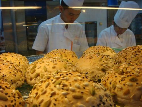 At the bakery...Penang, Malaysia.